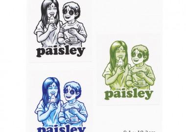 PaisleySticker