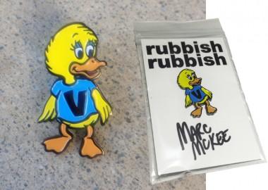 RubbishRubbishMarcMcKeeDuckPin