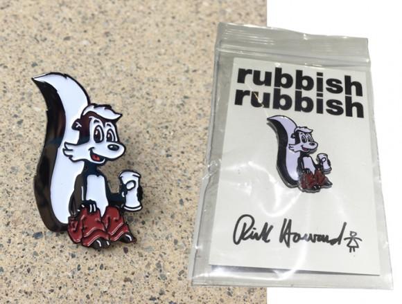 RubbishRubbishRickHowardPin