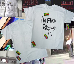 dearfredbrown1tee