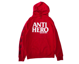 170202AntiBlackHeroHoodieRed