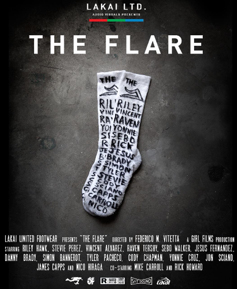 lakai-flare-premiere-poster