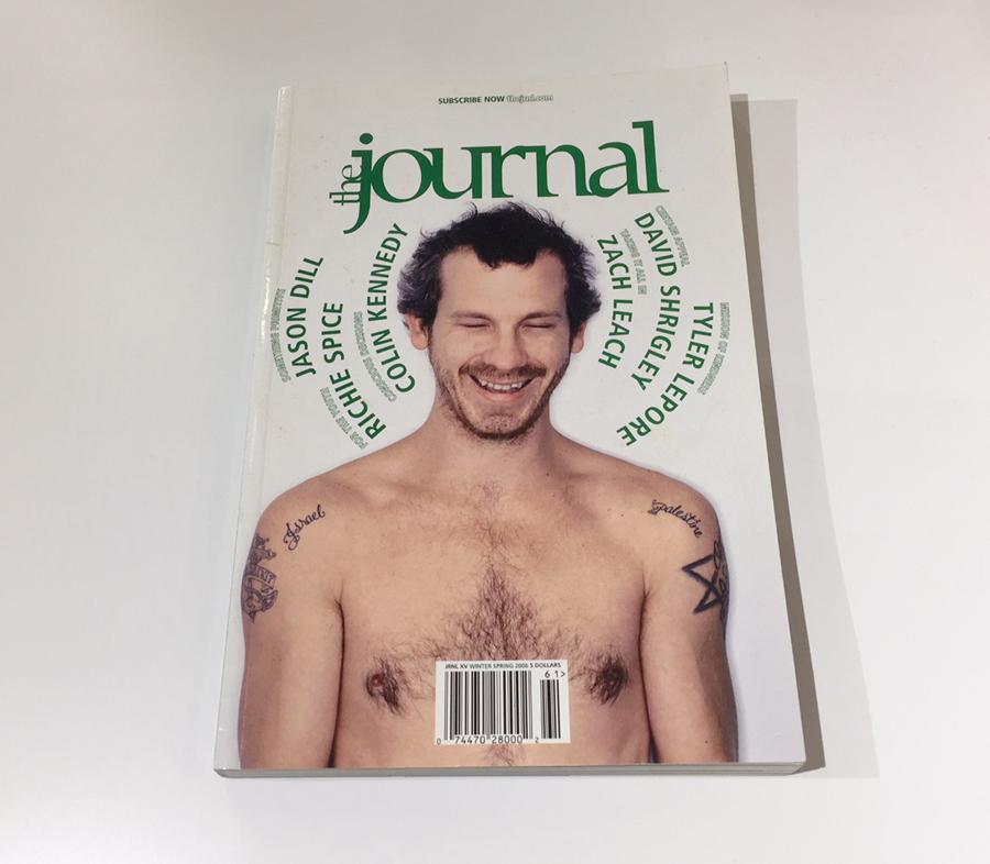 TheJournalIssue15JasonDillCover