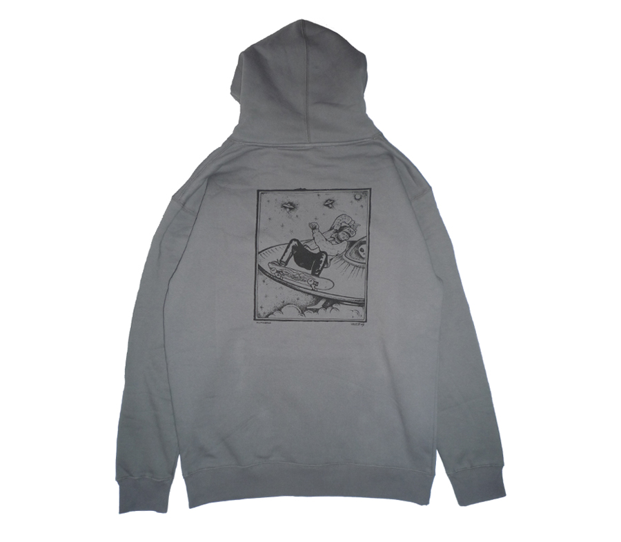 AntiLanceMountainSkullPlloverHoodie