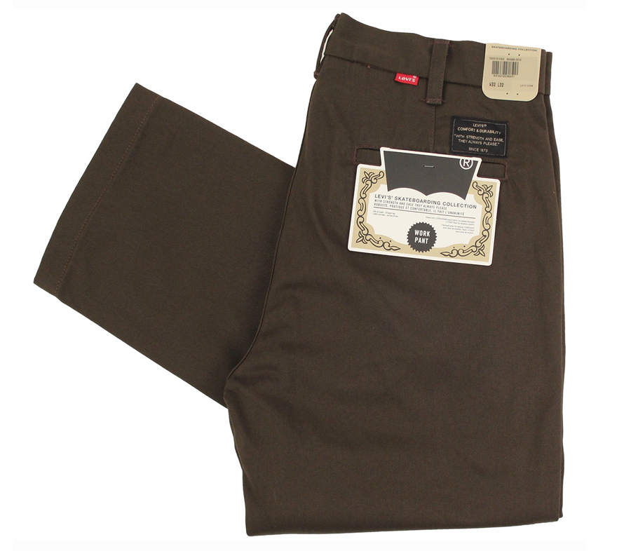 LevisSkateboardingWorkPantBrown
