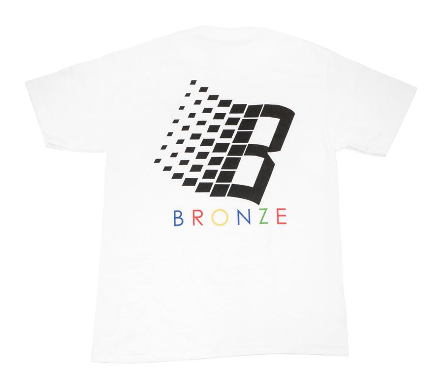 Bronz56KClassicLogoTeeWhite