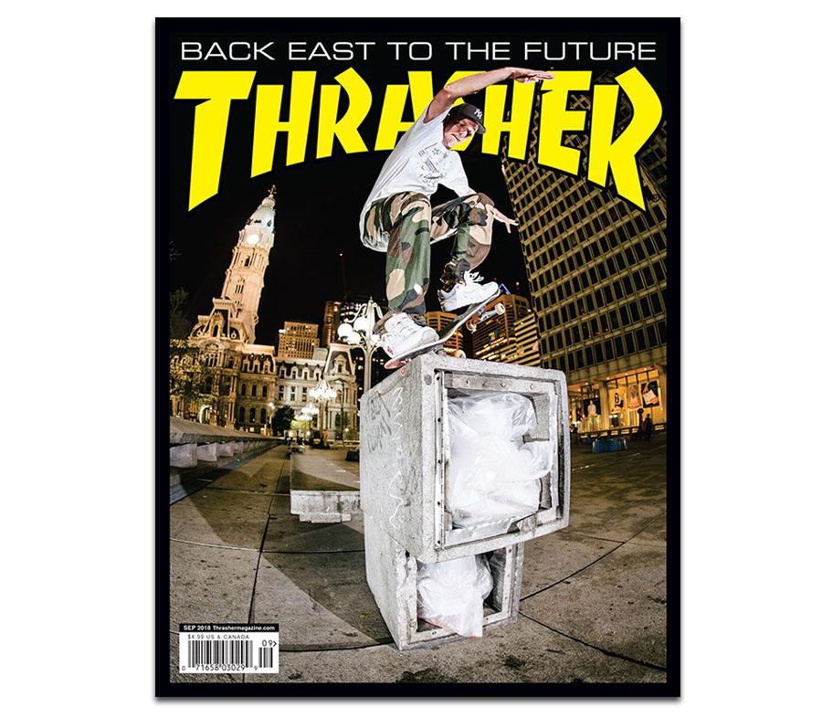 thrasher magazine 2018 september issue 458 スラッシャー 雑誌