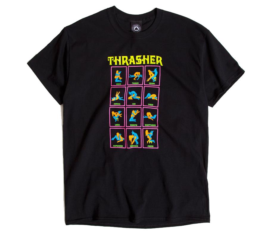 ThrasherBlackLightTee