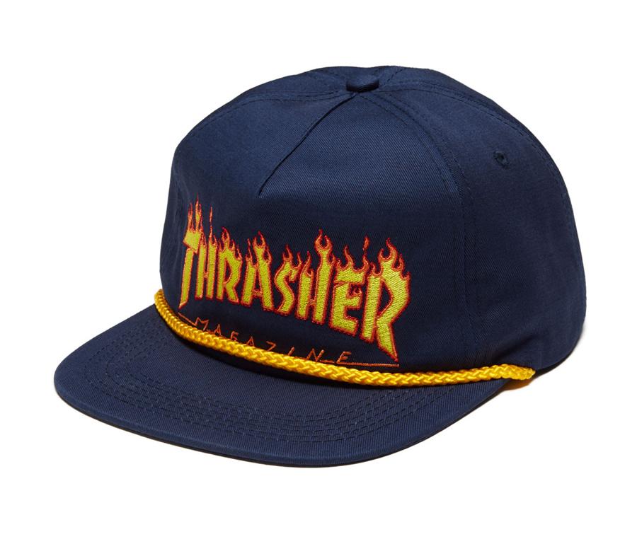 ThrasherFlameRopeSnapbackCap2