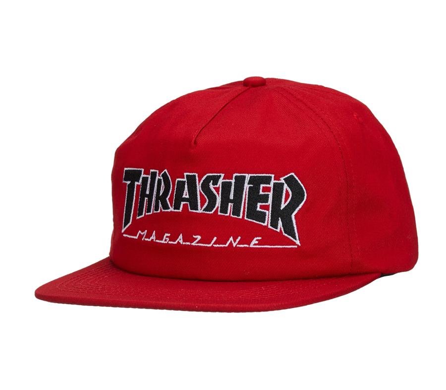 ThrasherOutlinedSnapbackCap4