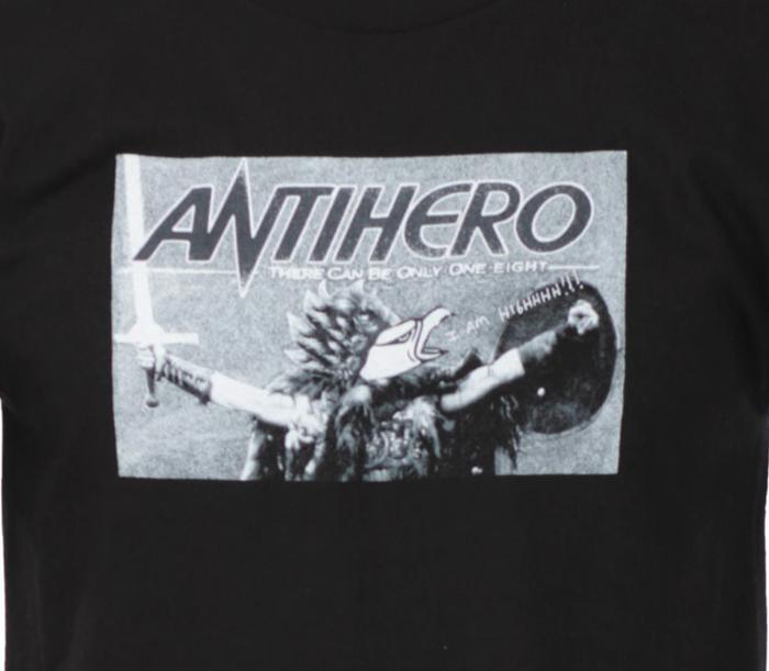 AntiThereCanBeOnlyOneEightTeeBlack2
