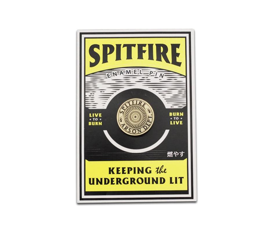 SpitfireArsonDepartmentPins