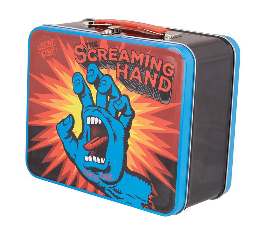 SantaCruzScreamingHandLunchBox