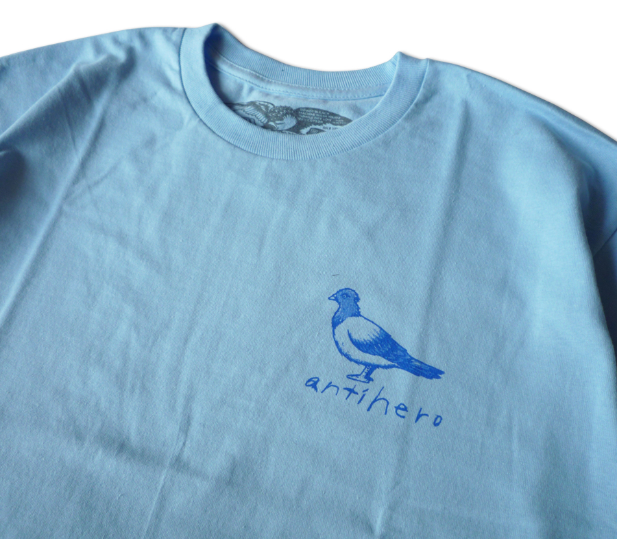 AntiHeroOgPigeonTeePowderBlue