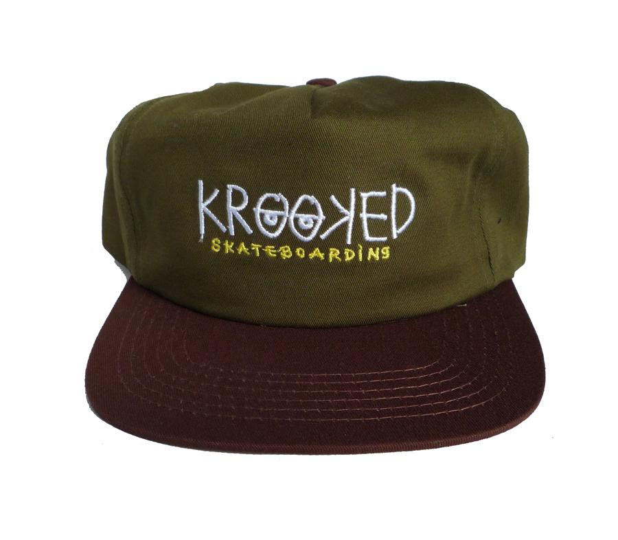 KrookedKrookedEyesSnapbackCap