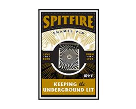 190409SpitfireBoxSwirlLapelPin