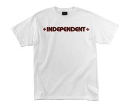 190504IndependentBarCrossTeeWhite