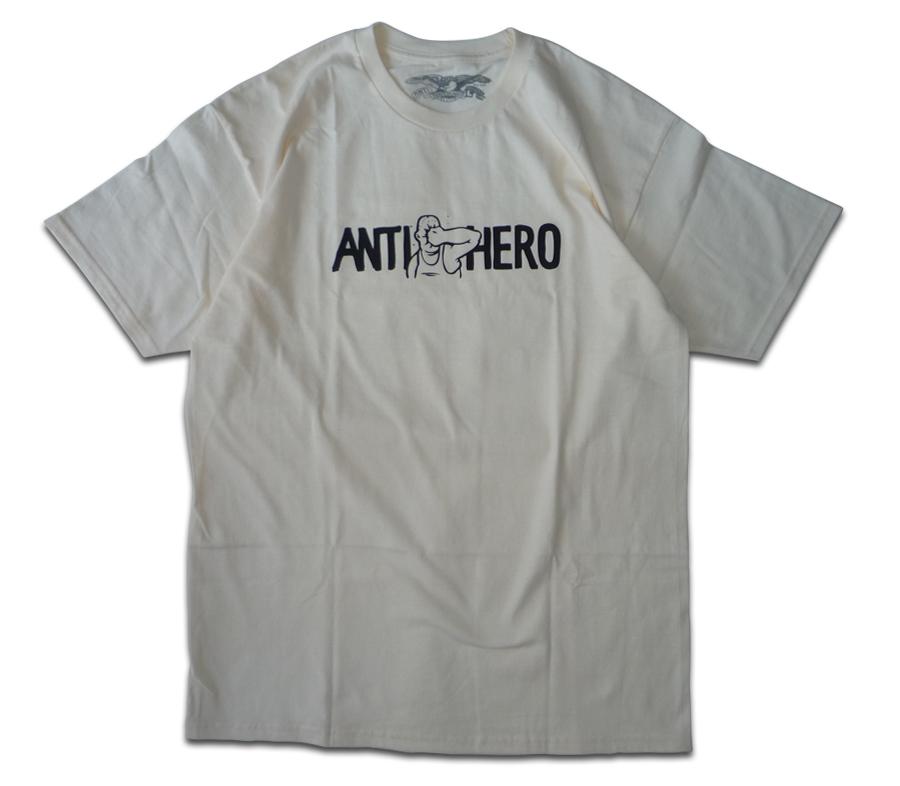 AntiHeroFacePunchTeeCream