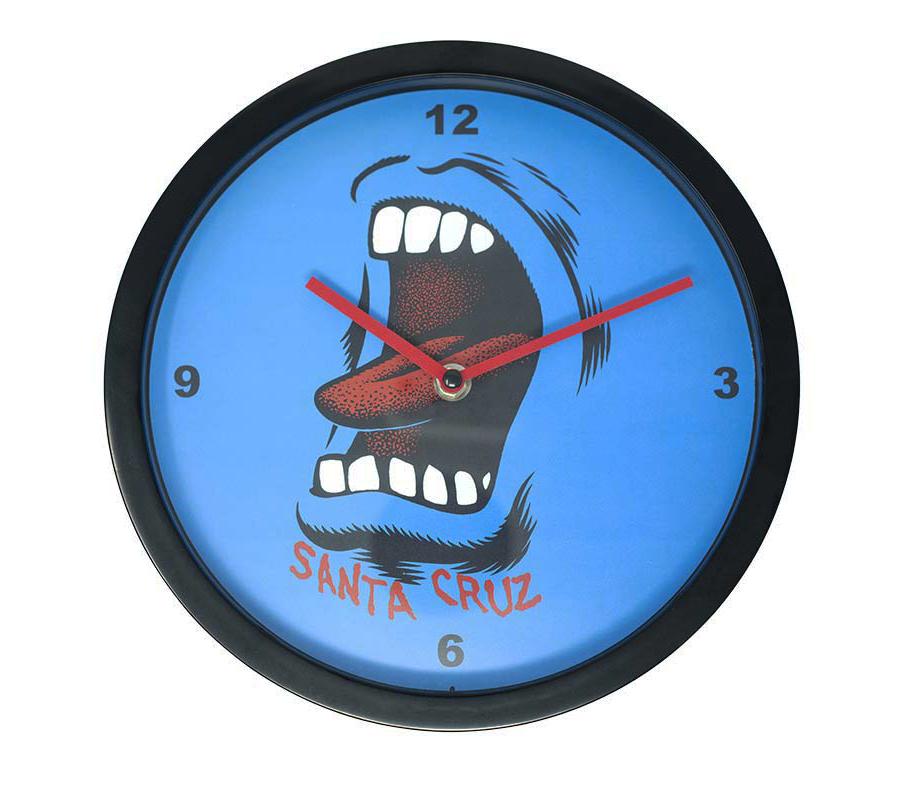 SantaCruzScreamingWallClock