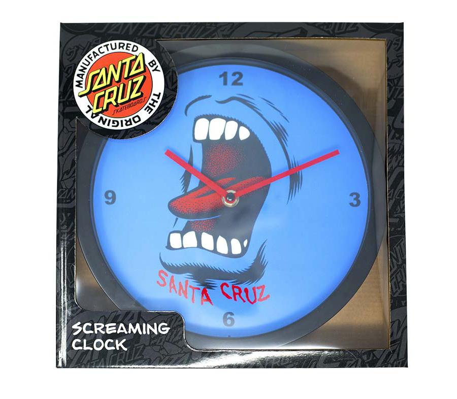 SantaCruzScreamingWallClock2