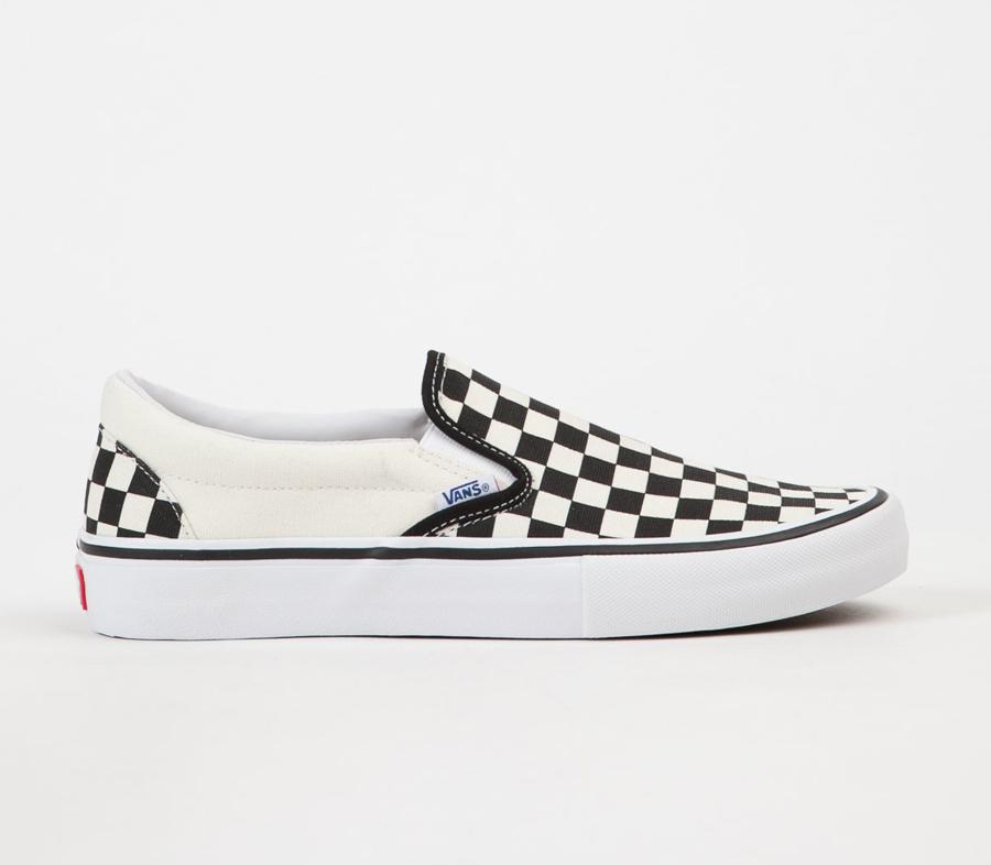 VansSliponProCheckerboardShoes