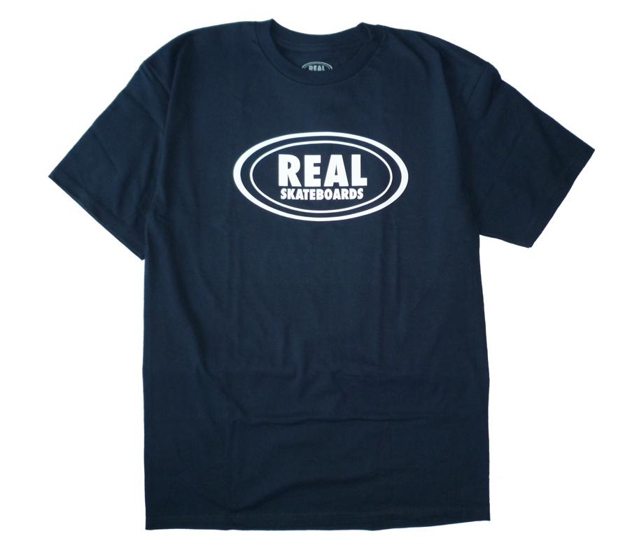 RealOvalTeeNavy