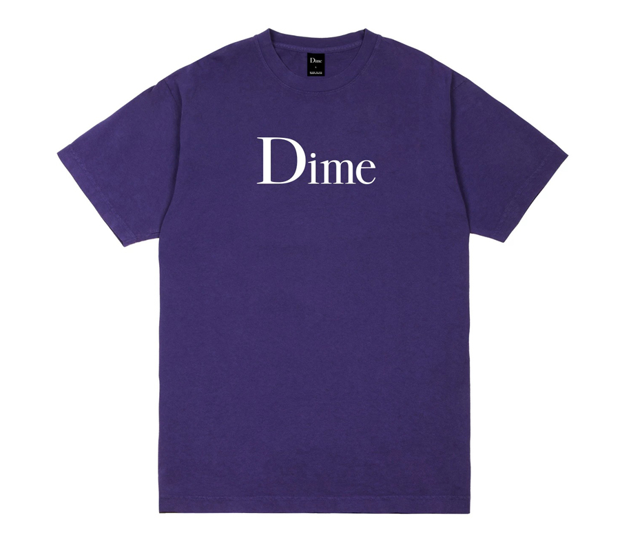 DimeClassicLogoTeePurple