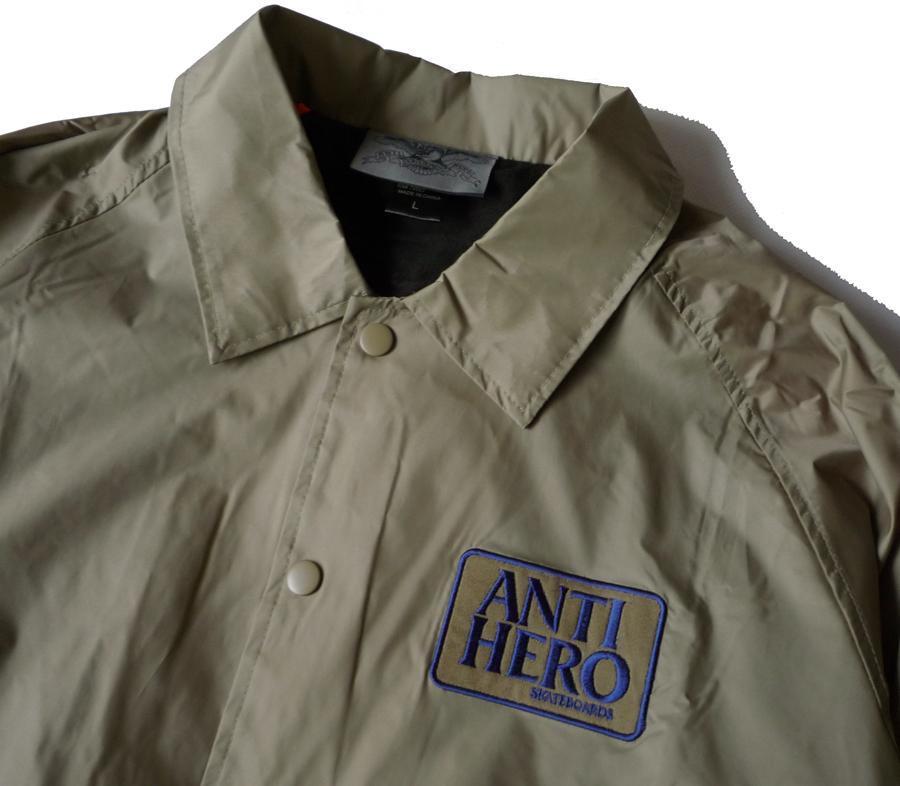 AntiHeroReservePatchCoachJacketKhaki2