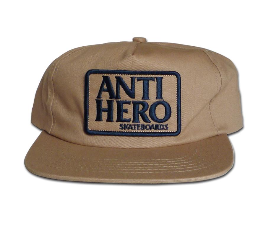 AntiHeroReservePatchSnapbackCapKhaki