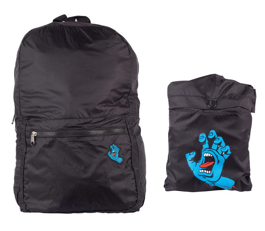 SantaCruzScreamingHandPackableBackpack