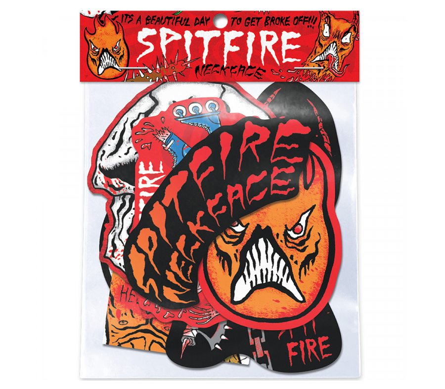 SpitfirexNeckfaceStickerPack