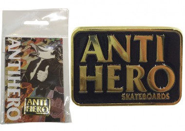 AntiHeroBlackHeroLapelPins