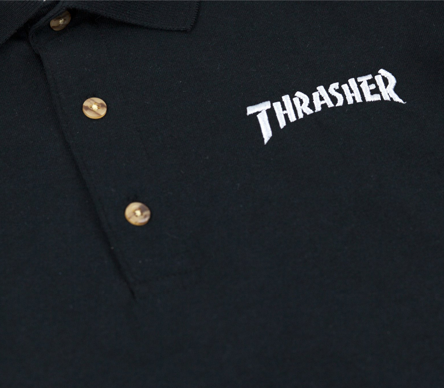 ThrasherEmbroideredLogoPoloShirt2