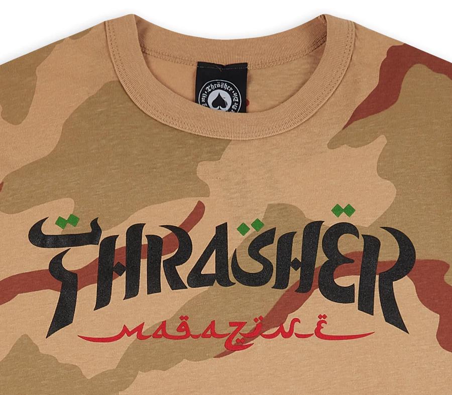 ThrasherCalligraphyTeeDesertCamo2