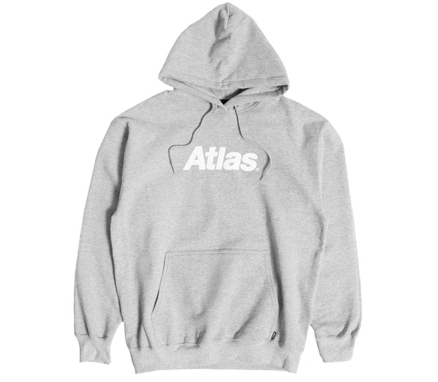 AtlasLogoPulloverHoodieHeather