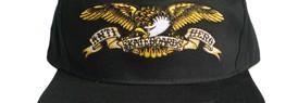 200415AntiHeroEagleEmbroideredSnapbackCapBlack
