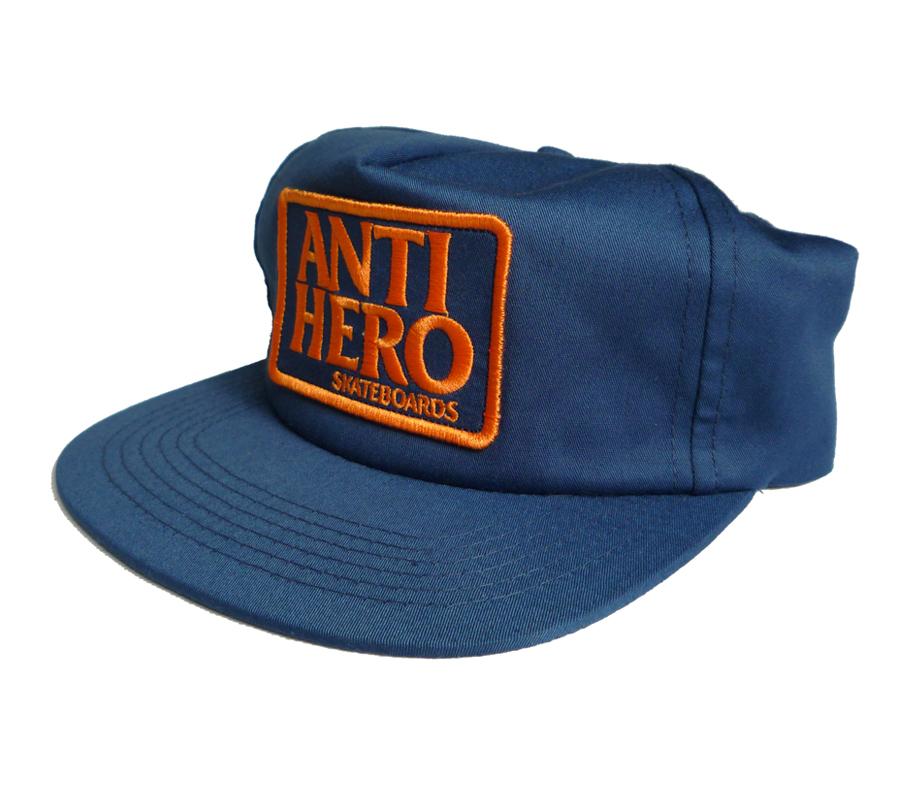 AntiheroReservePatchSnapbackCapNavyOrange2