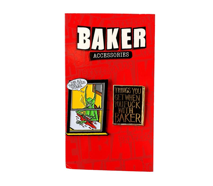 BakerNeckfaceLapelPinSet