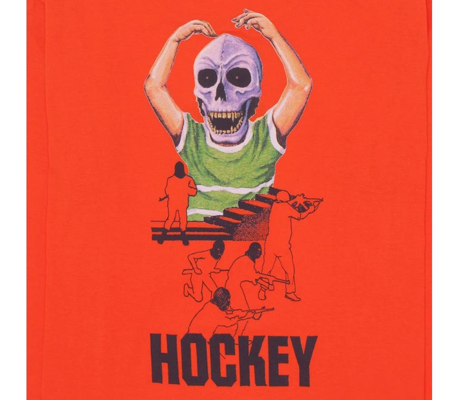 HockeySkullKidLSTee