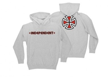 201015IndependentBarCrossHoodieYouth