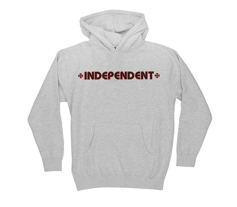 IndependentBarCrossHoodieYouth