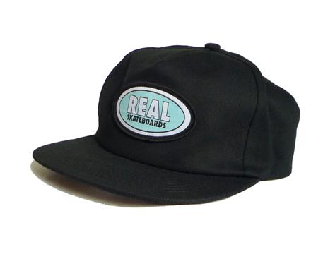 201123RealOvalCapBlackBlue