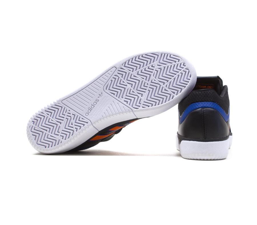 AdidasTyshawnCoreBlackOrangeRoyalBlueShoes