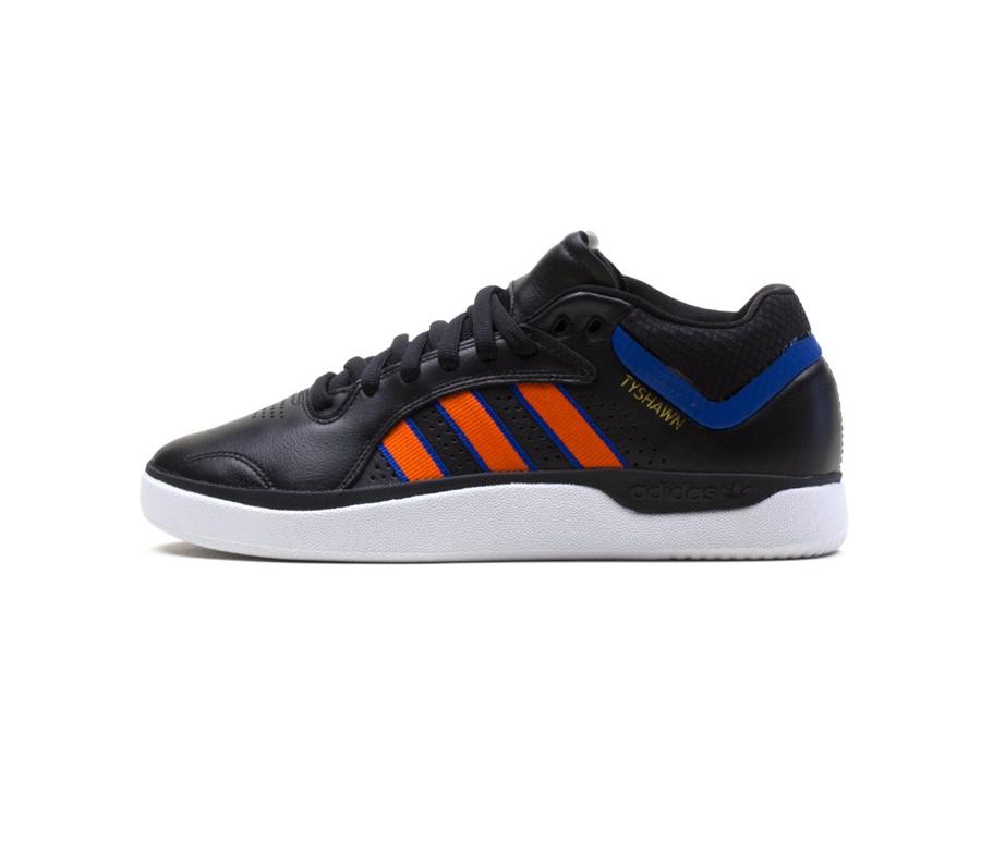 AdidasTyshawnCoreBlackOrangeRoyalBlueShoes2