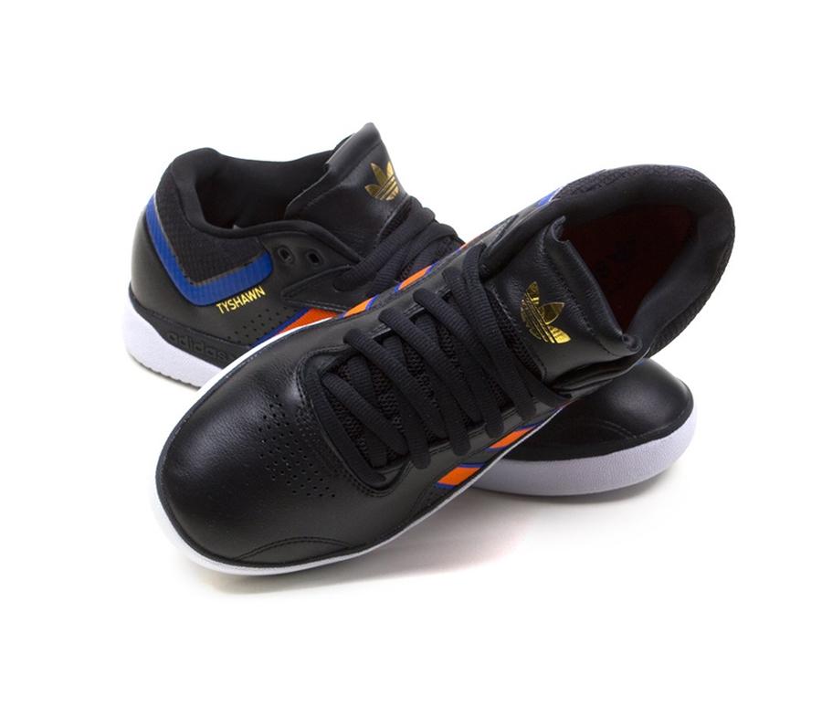 AdidasTyshawnCoreBlackOrangeRoyalBlueShoes3