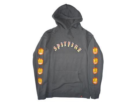 210312SpitfireOldEBigheadFillSleeveHoodieCharcoal