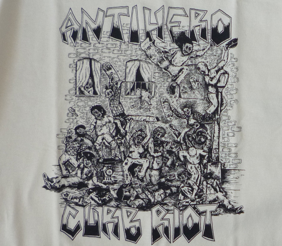 AntiHeroCurbRiotTeeCream2