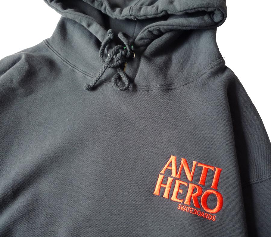 AntiHeroLilBlackHeroEmbroiderryHoodieSlateBlue2