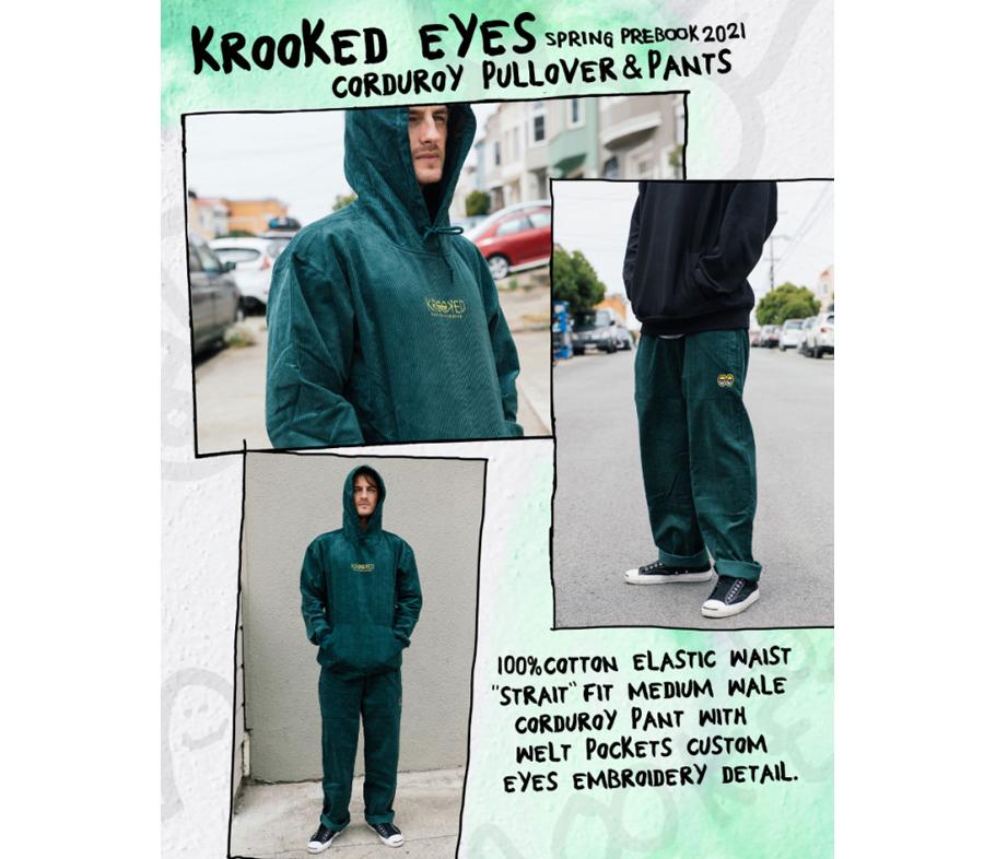 KrookedKrookedEyesCorduroyPulloverHoodie4