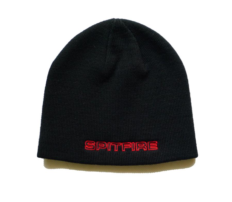 SpitfireClassic87SkullyBeanieBlack